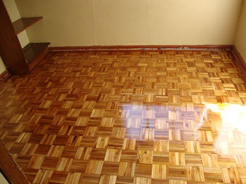 Parquet Flooring Finish